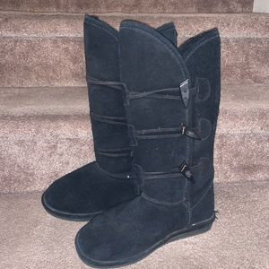 Bearpaw Bear Paw women's tall high boots black 7